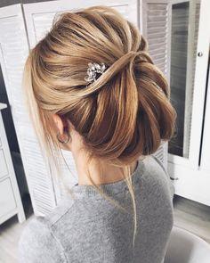 Beautiful updo wedding hairstyle for every bride #updo #hairstyle #bride #weddinghair #updos #upstyle #weddinginspiration
