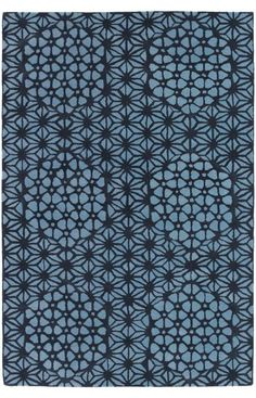 Chandra Rugs Parson Gray PAR Light Blue Rug
