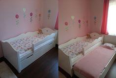 Bonita ágy  kihúzható vendégággyal Toddler Bed, Furniture, Home Decor, Pretty, Child Bed, Decoration Home, Room Decor, Home Furnishings, Home Interior Design
