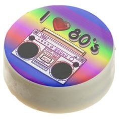 Boombox 80's Retro 80's Chocolate Dipped Oreo Cookies