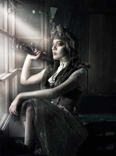 Steam girl in Showcase of Fashion Steampunk Photography