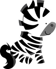 Zebra pequena.Meio fofa