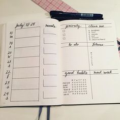 This weekly spread has been working out really well for me. . . . . . . . #planningahead #plannerpeace #bulletjournaling #plannercommunity #planneraddict #leuchtturm #bujo #bulletjournal #bulletjournaling #leuchtturm1917 #sharingiscaring