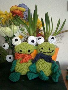 kostenlos Frosch häkeln // Kuschel-Frosch DIY