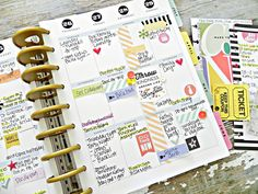 a photoless Create 365™ Happy Planner™ weekly spread by mambi Design Team member Stephanie Buice   me & my BIG ideas