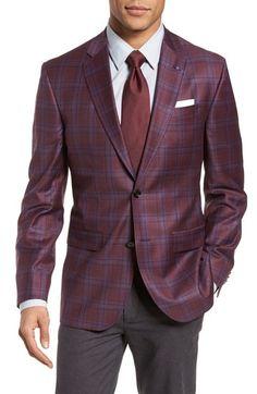 6b061d95cd90d TED BAKER JAY TRIM FIT PLAID WOOL SPORT COAT.  tedbaker  cloth   Modern