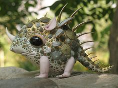 This talented artistic duo creates beautiful fairytale porcelain creatures