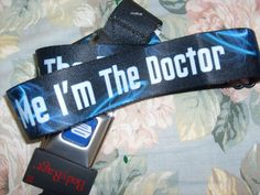 DR WHO TRUST ME DSEAT BELT STYLE ADJUSTABLE POLYESTER BELT OSFM SPENCER'S…