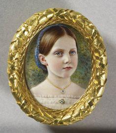 Attributed to Gugliemo Faija (1803-73) - Princess Helena (1846-1923)