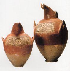 Hititte, spouted pitchers,  Kültepe (Tahsin Özgüç) (Erdinç Bakla archive)
