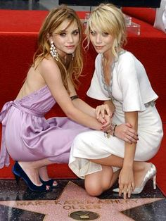 Mary Kate and Ashley Olsen. Hollywood Star. Entertainment Weekly.