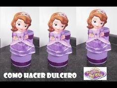 COMO HACER DULCERO DE LA PRINCESA SOFIA FACIL. Link download: http://www.getlinkyoutube.com/watch?v=XVx4kniRLmE