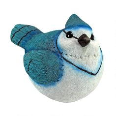 Design Toscano Blue Jay Burly Bird Statue * Details can be found by clicking on the image. Gnome Statues, Garden Statues, Garden Sculptures, Garden Figurines, Audubon Birds, Crushed Stone, Blue Jay, Love Design, Rock Art