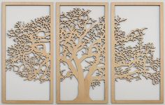 Tree of Life Wall Art - 4 feet wide. This beautifully crafted and intricately detailed wooden wall hanging will look stunning on any home or office wall.