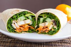 Giant Spring Roll - Naked Core #vegan #healthy