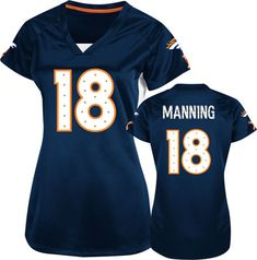 Denver Broncos Women's Peyton Manning. Love it!
