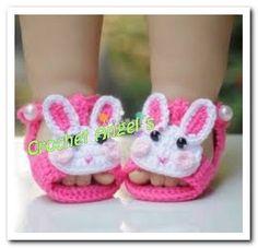 sandalias tejidas a crochet niña - Buscar con Google