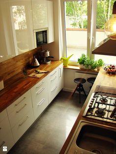 Projekt apartamentu na Żoliborzu - zdjęcie od HAKKA studio - Kuchnia - Styl…