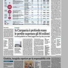In Campania è profondo rosso le perdite superano gli 84 milioni: #Astir peggiore partecipata