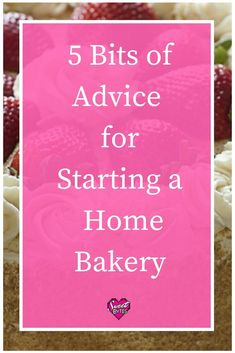Starting a new home bakery can be a great adventure (it can also be scary!) I've put together I few bits of advice that I wish I'd had before starting my own home bakery. Bakery Business Plan, Baking Business, Catering Business, Cake Business, Business Names, Business Ideas, Business Help, Business Logo, Online Business