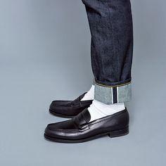 jm weston 180 UOMO | WEBUOMO Mens Shoes Boots, Denim Shoes, Sock Shoes, Shoe Boots, Look Fashion, Fashion Shoes, Mens Fashion, Penny Loafers, Loafers Men