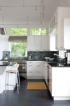 Bowman/Jill Brecheisen/Kitchens By Design - contemporary - kitchen - other metro - James Yochum Photography