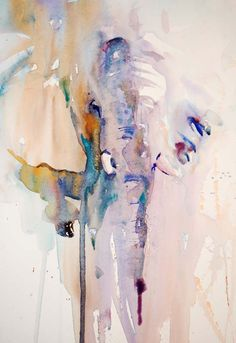 Jean Haines, Artist - Elephants