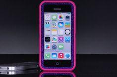 Otterbox iPhone 5C Defender Case - Pink/Purple Glitter iPhone 5C Otterbox Case - Sparkly Glitter Bling iPhone 5C Cover