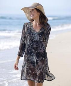 Damart Beach Cover-Up Product code W883  www.damart.co.uk