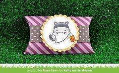 booyah_letspolkainthedark_pillowbox_kellyalvarez1 | by Lawn Fawn Design Team