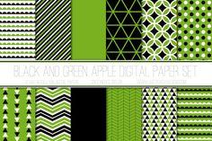 Halloween Digital Paper Pack by Just Peachy Digital Designs