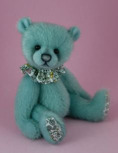 Bears by Mary Myrtle Miniatures: Miniature Artist Bears by Samantha Potter