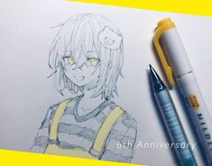 Anime Art Girl, Amazing Art, Babys, Sketches, Draw, Twitter, Pencil Drawings, Babies, Drawings