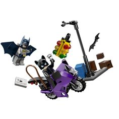 Amazon.com: LEGO Super Heroes Catwoman Catcycle City Chase 6858: Toys & Games