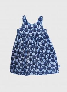 Carmen kjole blue atoms