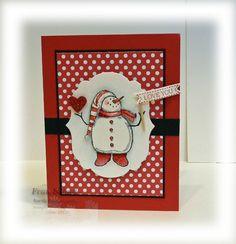 stampersblog: Valentine Snowman