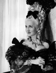 "NORMA SHEARER in ""Marie Antoinette"" - 1938"