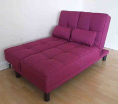Purple futon is very useful furniture with its sofa / bed combination style. It is also possible to build bunk beds of futon so you have a bed / couch on the bottom and another bed at the top.