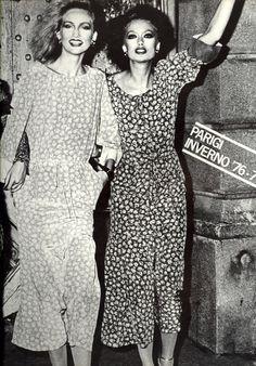 pretty 70's dresses