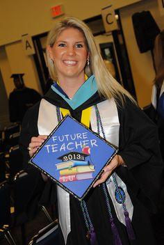 Future Teacher! #graduation #cap #creative