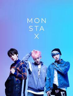 minhyuk, monsta x, kihyun, wonho