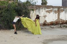 Pia Miller wears Suzanne Harward couture gown for The LANE Lolita Editorial. Behind the scenes.