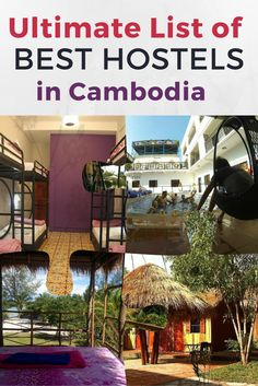 In this article you will find the; best hostels in Cambodia; best hostels in Phnom Penh; best hostels in Sihanoukville; best hostels in Siem Reap; best hostels in Kampot. Searching for the perfect hostel can be a bit overwhelming, especially when there are so many to choose from. Below is the ultimate list of the best hostels in Cambodia, including prices, reviews, and locations, all in one place for multiple cities!
