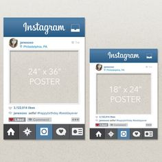 The Original Instagram Photo Prop File by CreativeUnionDesign
