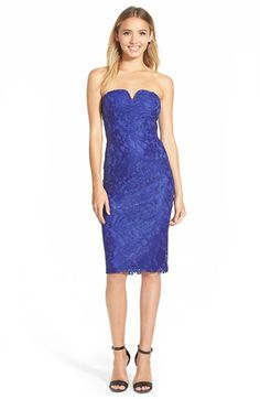 Speechless Lace Body-Con Midi Dress available at #Nordstrom