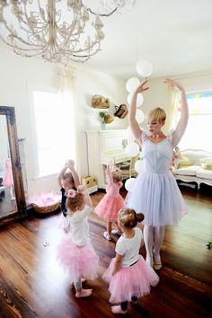 Vintage Whites Blog: A Ballerina Birthday Party