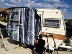 Motor Home Wraps   RV Pin Striping / Camper Wraps   Whaaaaaaaaat?!?