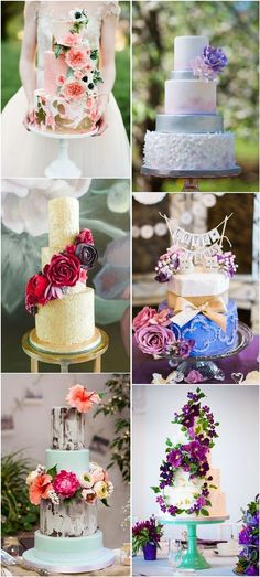 25 Gorgeous Beautiful Wedding Cake Ideas | http://www.deerpearlflowers.com/25-gorgeous-beautiful-wedding-cake-ideas/