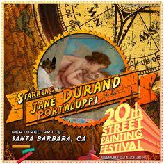 Jane Portaluppi Durand  http://streetpaintingfestivalinc.org/index.php/artists/featured-artists/57-jane-portaluppi