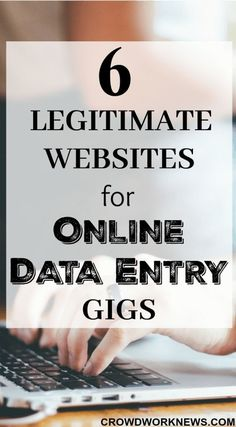 Do you want to find out the legitimate data entry or typing jobs online? Click through to read more about the websites which offer work at home typing roles.